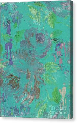Teal Spring Canvas Print