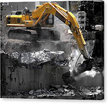 Canvas Print - Tear Down This Wall by DazzleMe Photography