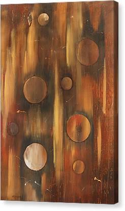 Tear Drops Canvas Print by Miroslaw  Chelchowski