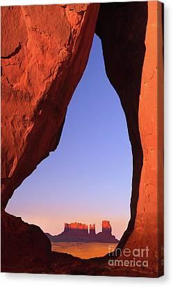 Teardrop Arch Canvas Print by Henk Meijer Photography