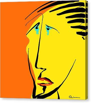 Tears 2 Canvas Print