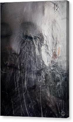 Canvas Print featuring the digital art Tears Of Ice by Gun Legler