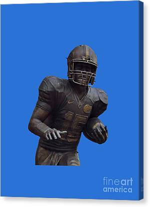 Tebow Transparent For Customization Canvas Print by D Hackett