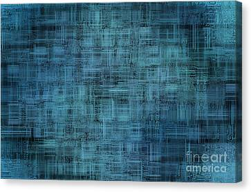 Component Canvas Print - Technology Abstract Background by Michal Boubin