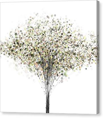 Trees Canvas Print - technology Abstract by Setsiri Silapasuwanchai