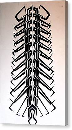 Technopede  Canvas Print by Stefan Johnson
