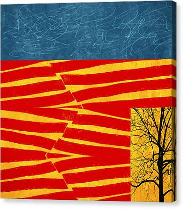 Tectonics Canvas Print by Carol Leigh