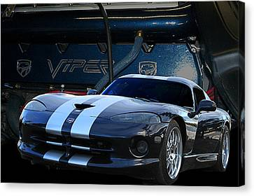Ted 950 Hp Viper Canvas Print by Jim  Hatch