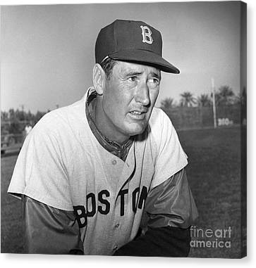 Ted Williams (1918-2002) Canvas Print