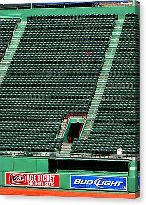 Ted's Red Seat In Context Canvas Print
