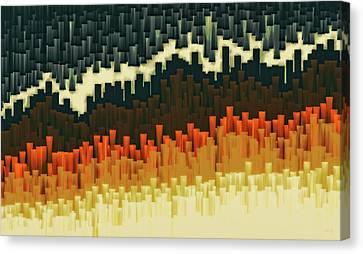 Teeth 030517 Canvas Print by Matt Lindley