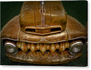 Red Chev Canvas Print - Teeth by Jerry Golab