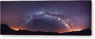 Teide Milky Way Canvas Print
