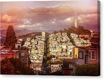 Telegraph Hill San Francisco  Canvas Print