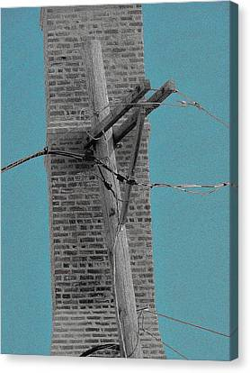 Telephonic 1 Canvas Print by Todd Sherlock