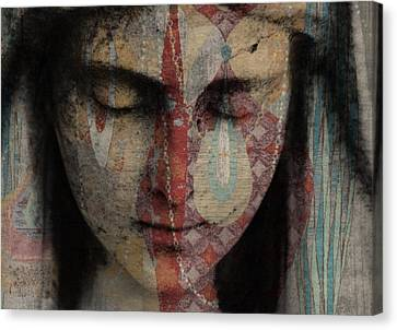 Crying Canvas Print - Tell Me There's A Heaven by Paul Lovering