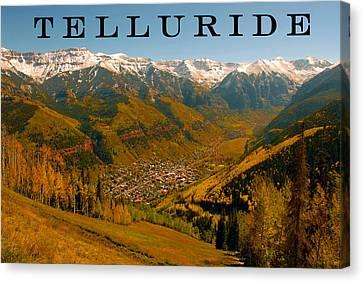 Telluride Colorado Canvas Print by David Lee Thompson