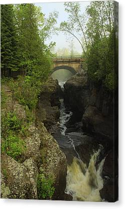 Temperance River Fog Canvas Print