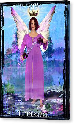 Temperance Canvas Print by Tammy Wetzel