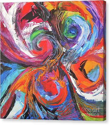 To Dominate Canvas Print - Tempest by Expressionistart studio Priscilla Batzell
