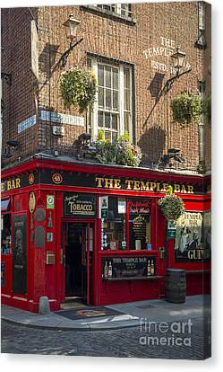 Temple Bar - Dublin Ireland Canvas Print