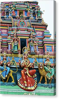 Temple Gopuram Canvas Print by Tim Gainey
