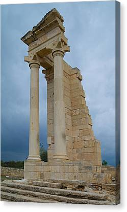 Temple Of Apollo Canvas Print by Harold Piskiel