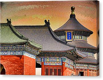 Temple Of Heaven Canvas Print by Dennis Cox ChinaStock
