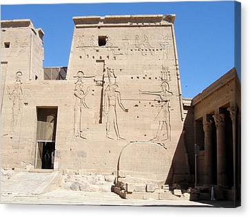 Temple Of Isis At Philae Canvas Print