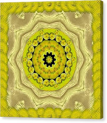 Temple Of Magic Wisdom Canvas Print by Pepita Selles