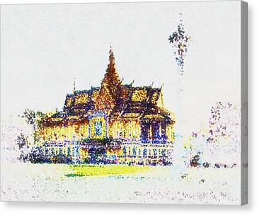 Temple Of The Buddha Canvas Print