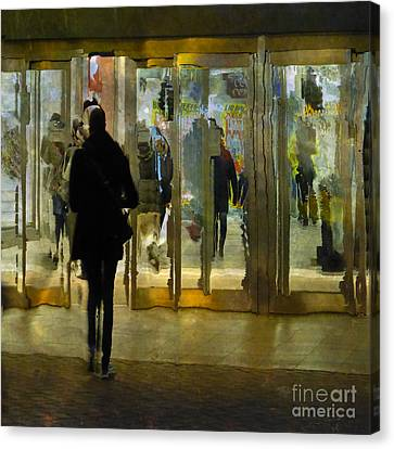 Canvas Print featuring the photograph Temptation by LemonArt Photography