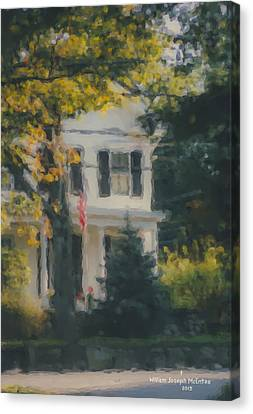 Ten Lincoln Street, Easton, Ma Canvas Print