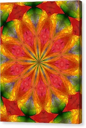 Ten Minute Art 090610-a Canvas Print by David Lane