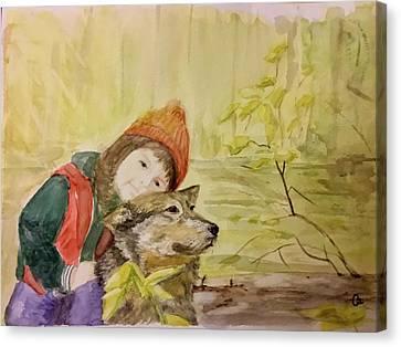 Tender Automn Canvas Print by Annie Poitras