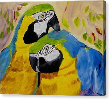Tender Birdsong  Canvas Print