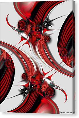 Tender Design - Composition Canvas Print
