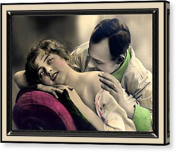 Tender Kisses Canvas Print