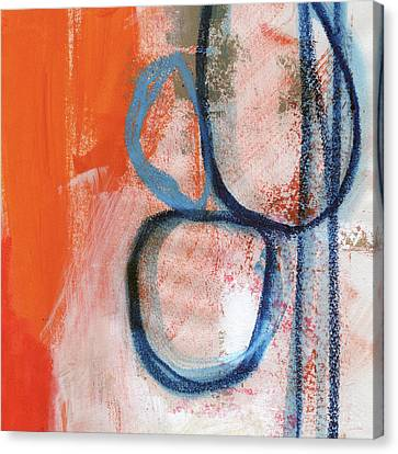 Contemporary Abstract Canvas Print - Tender Mercies by Linda Woods