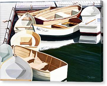 Tender Ten Canvas Print by Mary Grden's Baywood Gallery