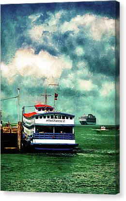 Thailand Canvas Print - Tendered To Mothership   by Joseph Hollingsworth