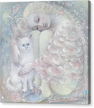Tenderness Canvas Print by Annael Anelia Pavlova