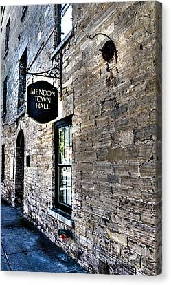 Mendon Town Hall Canvas Print