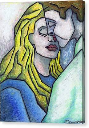 Tendor Moment Canvas Print by Kamil Swiatek