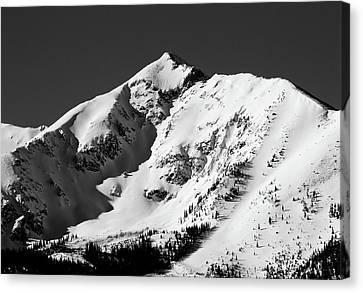 Tenmile Peak In Summit County Colorado Canvas Print by Brendan Reals