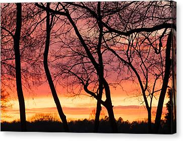 Tennessee Sunset Canvas Print by Duane Miller