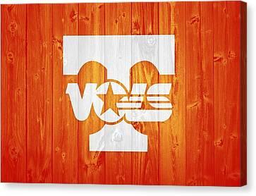 Tennessee Volunteers Barn Door Canvas Print