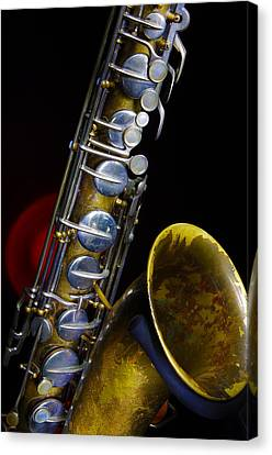 Canvas Print featuring the photograph Tenor #1 by Jim Mathis