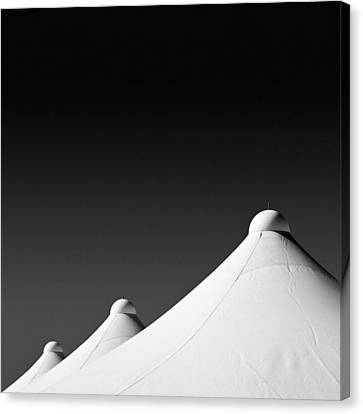 Tent Tops Canvas Print by Dave Bowman