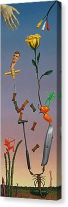 Tenuous Still-life 3 Canvas Print